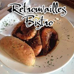 Retrouvailles Bistro<br>(pronounced Retro Vi - rhymes with Hi, the s is silent)