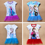 Frozen Inspired Dress - Short Sleeve & Long Sleeve Available - $14.50 with FREE Shipping!